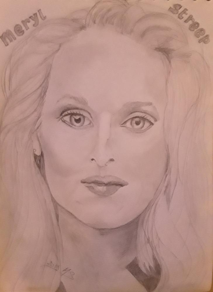 Meryl Streep by noisette